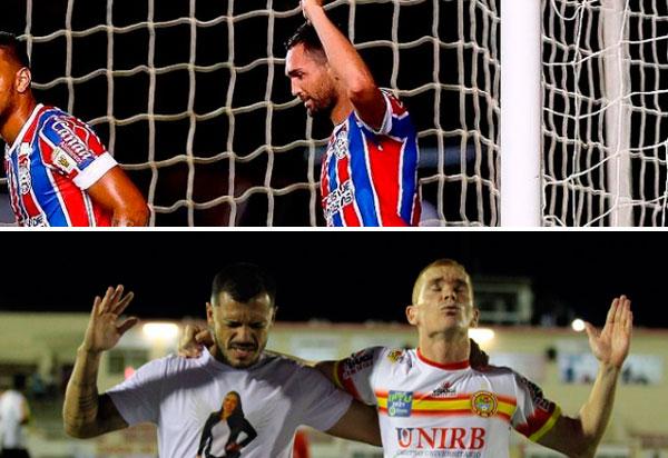 Bahia e Juazeirense estão na próxima fase da Copa do Brasil