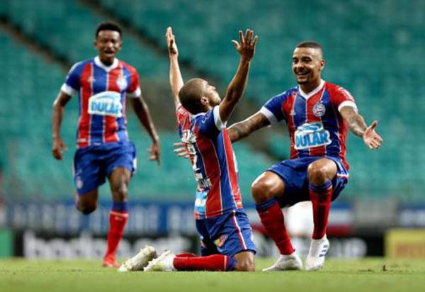 Bahia bate Londrina por 4 a 0 pela Copa do Brasil