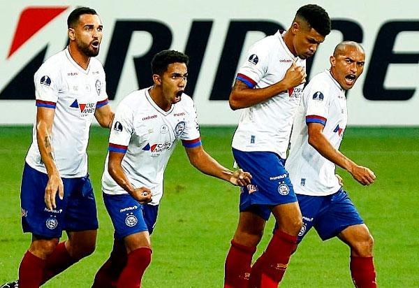 Bahia goleia o Melgar e vai às oitavas da Sul-Americana