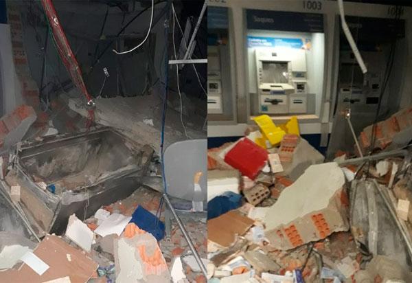 Correntina: Três agências bancárias foram explodidas por grupos armados