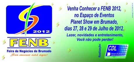 FENB 2012: CONTAGEM REGRESSIVA PARA O EVENTO