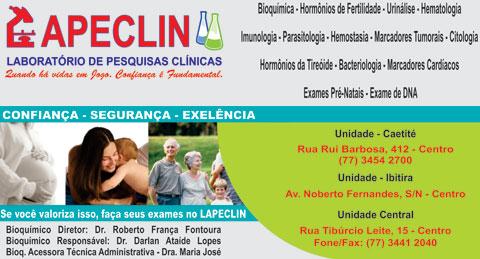 LAPECLIN O SEU LABORATÓRIO DE PESQUISAS CLINICAS