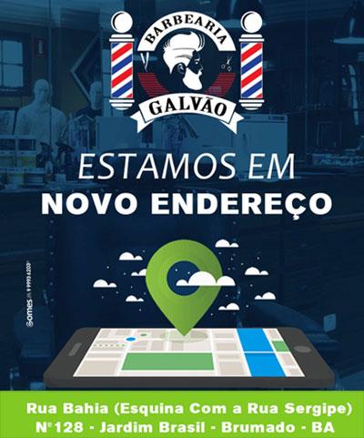Barbearia Galvão agora está em novo endereço
