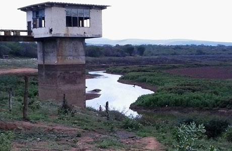 Brumado: Barragem do Rio do Antônio está quase seca
