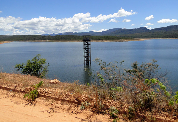 Rio de Contas: Barragem Luis Vieira aumenta volume de água com chuvas de dezembro