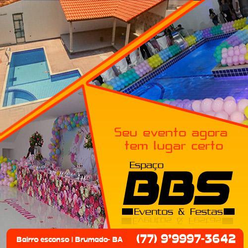 BBS Eventos & Festas: seu evento agora tem lugar certo em Brumado