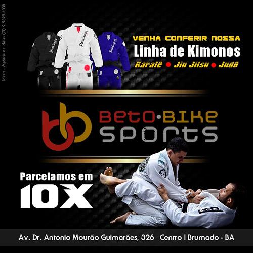 Beto Bike Sports: disponível linha de Kimonos adulto e infantil