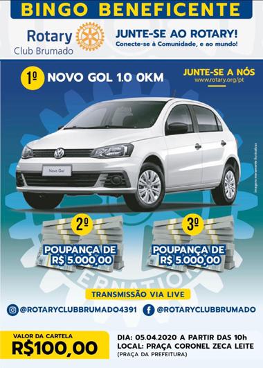 Rotary Club de Brumado promove  2º Bingo Beneficente em prol da Apae