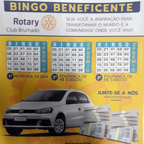 Rotary Club de Brumado promoverá 1° Bingo Beneficente