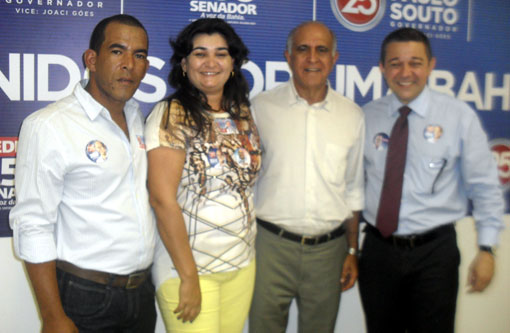 Eleições 2014: Lideranças brumadenses se encontram com Paulo Souto em Salvador