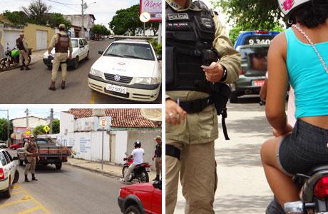 BRUMADO: POLÍCIA MILITAR INTENSIFICA BLITZ