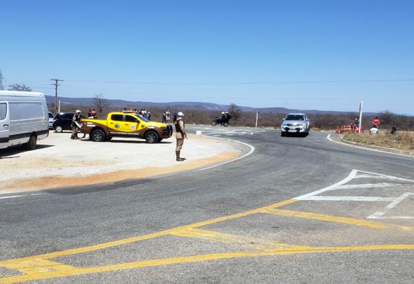 Trecho de Brumado é liberado após bloqueio dos caminhoneiros