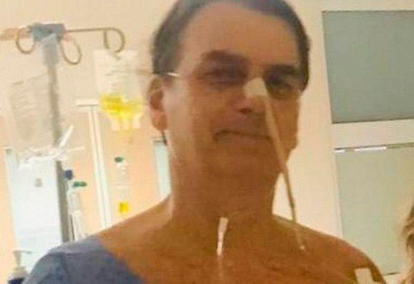 Bolsonaro  é diagnosticado com pneumonia