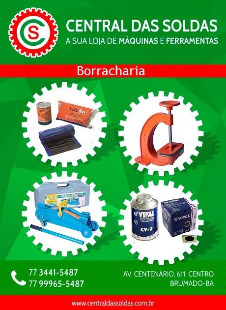 Central das Soldas - produtos para Borracharia