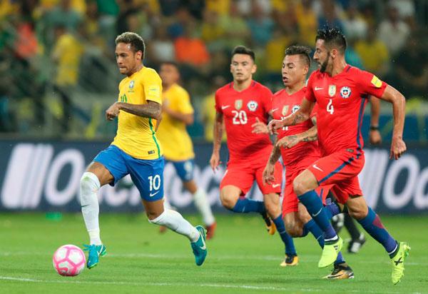 Brasil enfrentará o Chile nas quartas de final da Copa América 2021