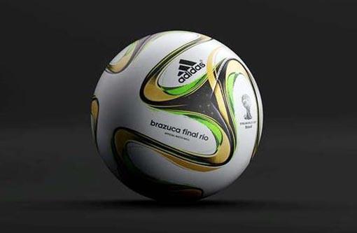 Fifa divulga imagens da Brazuca Final Rio, a bola da final da Copa do Mundo
