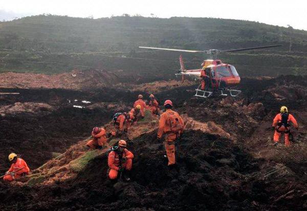 Número de mortos confirmados em Brumadinho sobe para 142