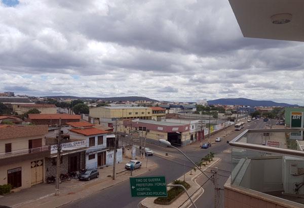 Semana será de tempo nublado com possibilidade de chuva em Brumado