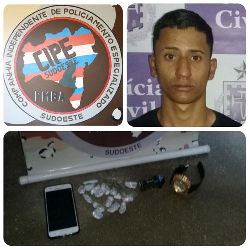 Polícia confirma autoria da prática de homicídio contra guarda municipal em Barra da Estiva após prisão de suspeito
