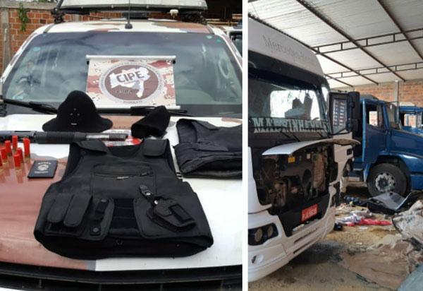 Caesg localiza desmanche de veículos roubado em Vitória da Conquista
