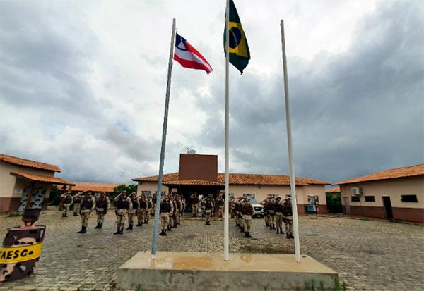 Cipe Sudoeste realizou solenidade alusiva ao Dia da Bandeira