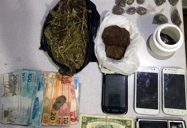 Casal é detido acusado de trafico de drogas em Livramento