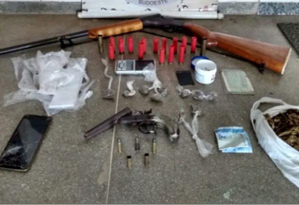Caesg detém em Pindaí homem acusado de: tráfico de drogas e posse ilegal de arma