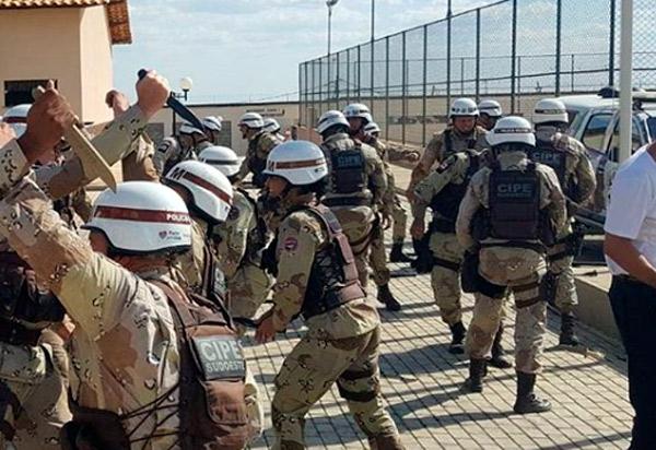 Policiais da Caesg participaram de Ciclo de Instruções visando a Operação Carnaval 2019