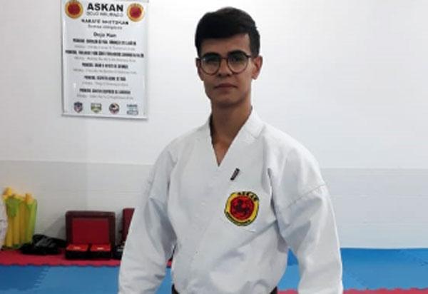 Brumado: Caio Felipe Lacerda disputará Campeonato Nacional de Karatê em Salvador