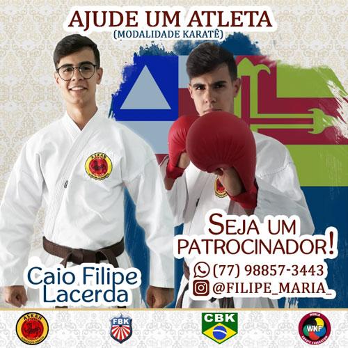 Karateca brumadense busca patrocínio para participar de competições