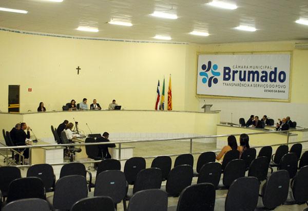 Reunião entre os vereadores definirá se importantes mudanças no Poder Legislativo de Brumado serão efetivadas