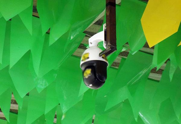 Aracatu: prefeitura instala câmeras para segurança no circuito do Arraiá do Gererê
