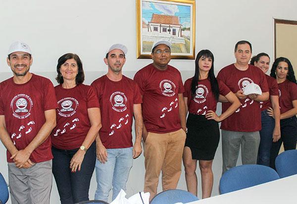 Brumado: servidores do Fórum Leonor da Silva Abreu e Juiz Genivaldo Alves Guimarães apoiam 4ª edição da caminhada 'Passos que Salvam'