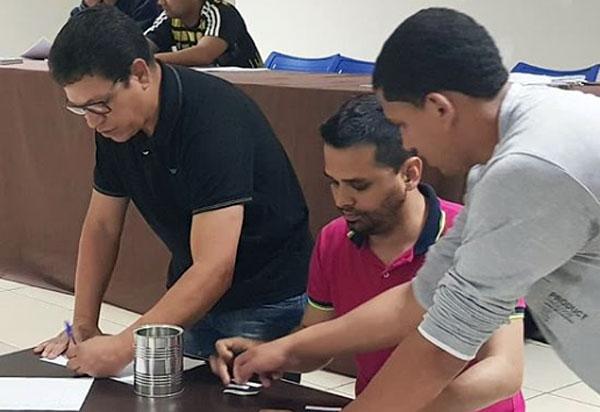 Aracatu: reunião definiu os atletas integrantes de cada time do Campeonato Aracatuense de Futsal 2018