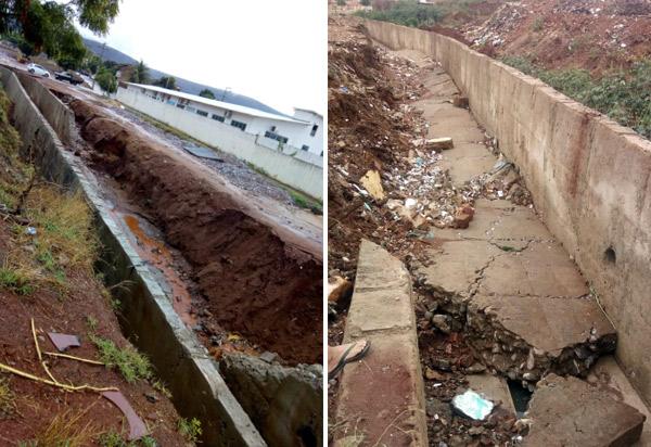 Brumado: queda de muro de canais em riachos tem grande repercussão
