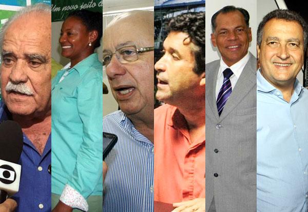 Candidatos ao governo da Bahia se enfrentam em primeiro debate na TV Band
