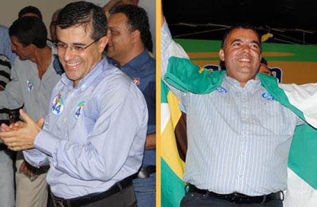 LIVRAMENTO: DR. PAULO 57% E RICARDINHO 35%