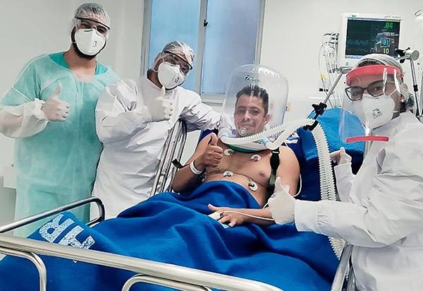 Sesab faz aquisição de 400 capacetes para ventilação mecânica não invasiva de pacientes Covid-19; Brumado não será contemplado