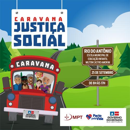 Caravana da Justiça Social leva serviços à população de Rio do Antônio