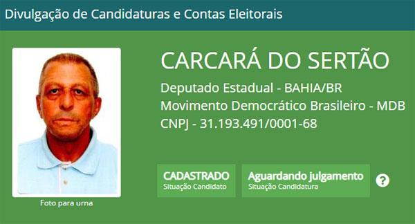 Brumado: 'Carcará do Sertão' tem candidatura a deputado estadual registrada