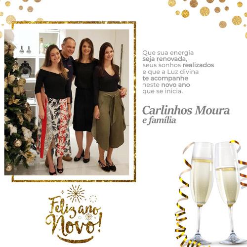 Carlinhos Moura deseja à todos um Feliz Ano Novo