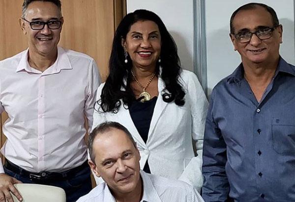 Pré-candidato a deputado federal, Carlinhos Moura se reuniu com a diretoria do Instituto dos Auditores Fiscais do Estado da Bahia