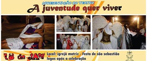 Brumado: CARP apresenta peça teatral 'A Juventude quer viver'