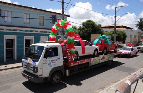 NATAL DOS SONHOS: CDL REALIZA CARREATA DE CAMPANHA