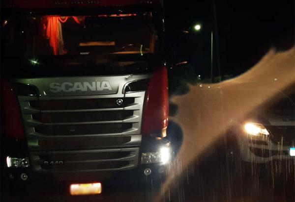 Paramirim: Polícia recupera carreta roubada em MG