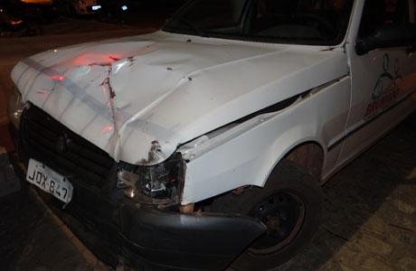 Brumado: Carro da prefeitura se envolve em acidente