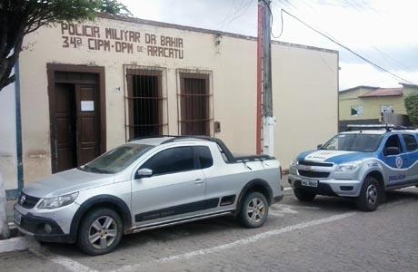 Aracatu: Polícia Militar recupera veículo roubado