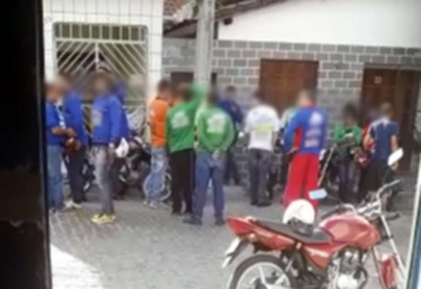 Brumado: promoção em novamototáxida cidade gera protesto de outrosmototaxistas