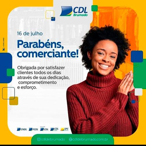 CDL de Brumado parabeniza comerciantes pelo seu dia
