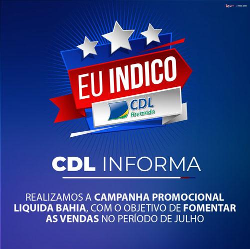 Brumado: CDL lança a campanha 'Eu Indico'